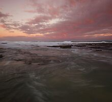 Merewether Rock Platform 3 by Mark Snelson