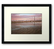 Merewether Baths 2 Framed Print