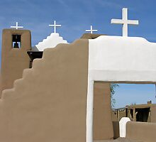 Taos Pueblo by Mary  Lane