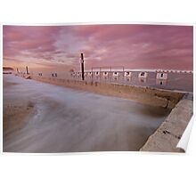 Merewether Baths at Dusk 5 Poster