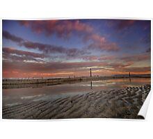 Merewether Baths at Dusk 6 Poster