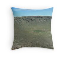 Barringer Meteor Crater Throw Pillow
