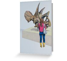 Museum X (Triceratops), Pencil on paper, 57x39cm, 2013. Greeting Card