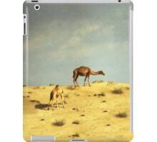 Camels in Dubai iPad Case/Skin