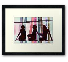 Body Language 22 Framed Print