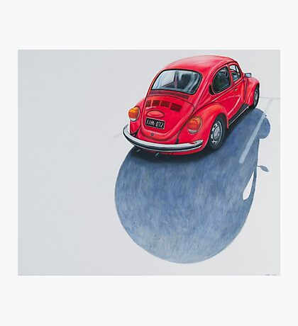Red Beetle, Pencil on paper, 43x50cm, 2013. Photographic Print