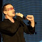 U2 - Bono Posing by Chris Putnam