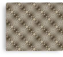 Oscillation Mosaic Canvas Print