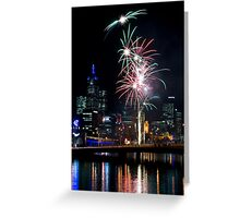 Crown Casino 10th Anniversary Celebrations Greeting Card