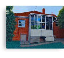 Come Back Haunted, 2013, Oil on Board, 30.5 x 40.5cm. Canvas Print