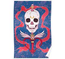 Moon Skull Poster