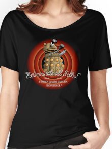 Exterminate All Folks! Women's Relaxed Fit T-Shirt