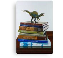 Dinosaurs, 2014, Oil on Linen, 122x83cm. Canvas Print