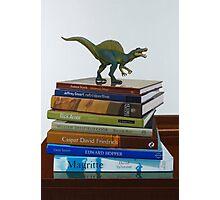 Dinosaurs, 2014, Oil on Linen, 122x83cm. Photographic Print