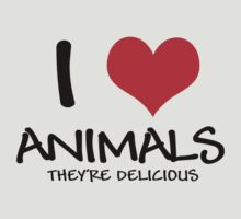 I love animals (they're delicious) by digerati