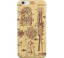 1914 Goddard Rocket Patent iPhone Case/Skin