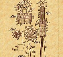 1914 Goddard Rocket Patent by Barry  Jones