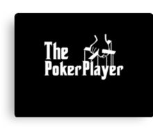 The Poker Player Canvas Print