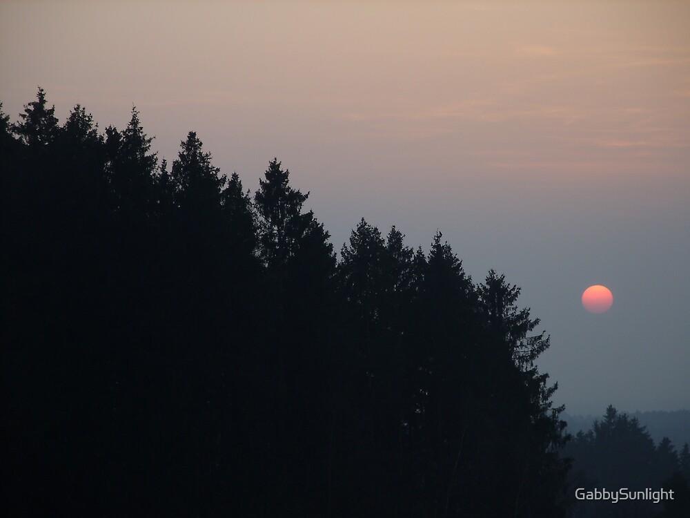 Full Moon by GabbySunlight