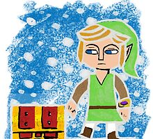 Zelda A LInk Between Worlds Christmas by moosegod