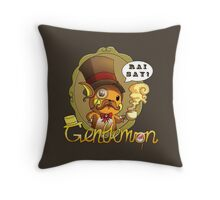 Gentlemon: Rai say! Throw Pillow
