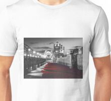 Tower Bridge and the Ceramic Poppies BW Unisex T-Shirt