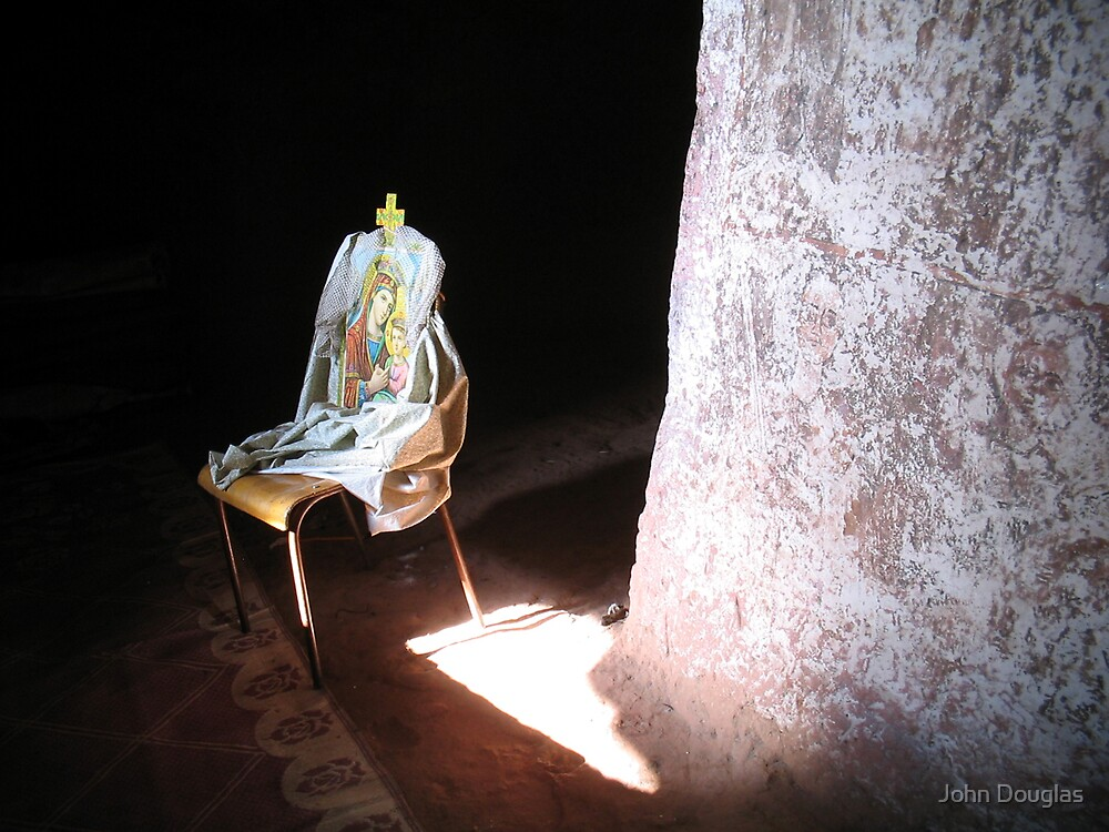 Mary On A Chair by John Douglas