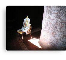 Mary On A Chair Canvas Print