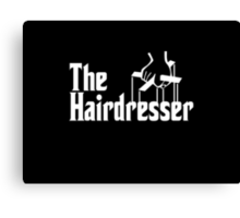 The Hairdresser Canvas Print