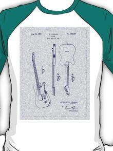 1951 Fender Electric Guitar Patent T-Shirt