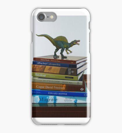 Dinosaurs, 2014, Oil on Linen, 122x83cm. iPhone Case/Skin