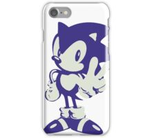 Minimalist Sonic iPhone Case/Skin