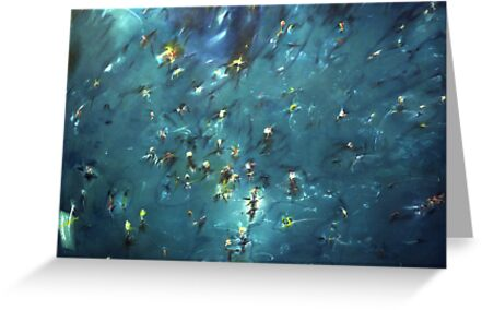 flooded forest (painting) by victor