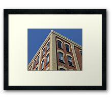 Brick History Framed Print