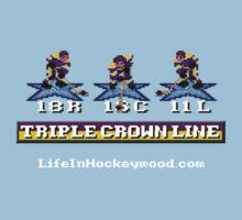 Triple Crown Line Baby Tee