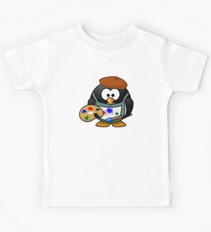 Painter Penguin Kids Tee