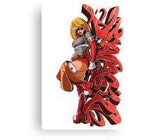 Dynagirl Graphitti Canvas Print