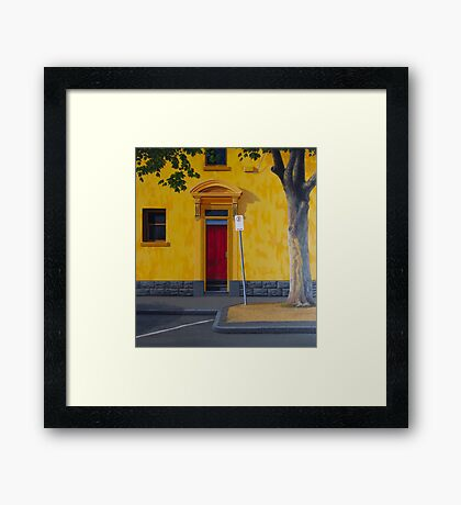 Private Club, 2012. Oil on Linen, 84X76cm. Framed Print
