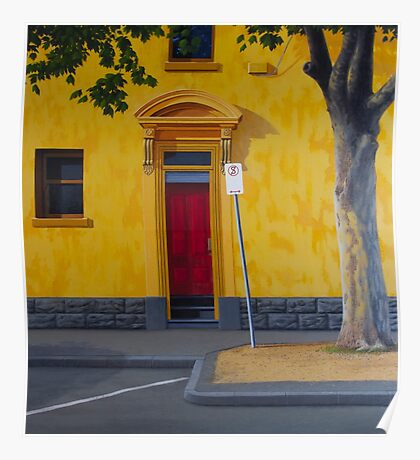 Private Club, 2012. Oil on Linen, 84X76cm. Poster