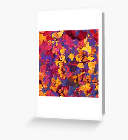 Abstract spring blossom Greeting Card