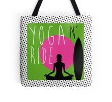 Yoga n' Ride Tote Bag