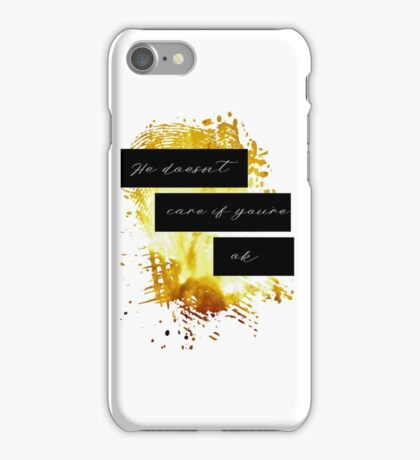 Ruok? Part 2 iPhone Case/Skin