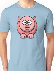 Cute Baby Pig Unisex T-Shirt