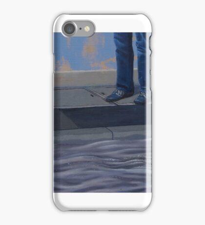 Peril II, 2013, Oil on Linen, 25x70.5cm. iPhone Case/Skin