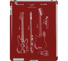 Fender Bass Guitar Patent-1953 iPad Case/Skin