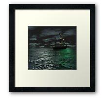 Siren 2:  The Ship Framed Print