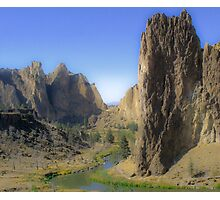 smith rock Photographic Print