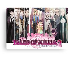 Xillia 2 Group (ToX2) Canvas Print