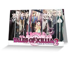 Xillia 2 Group (ToX2) Greeting Card