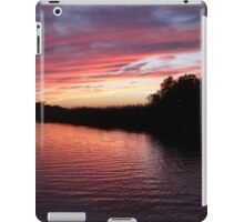 One More Mobile Sunset iPad Case/Skin